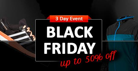 BLACK FRIDAY e-SHOP EXTRAVAGANZA! Savings like never before. November     27.11 – 29.11.2015