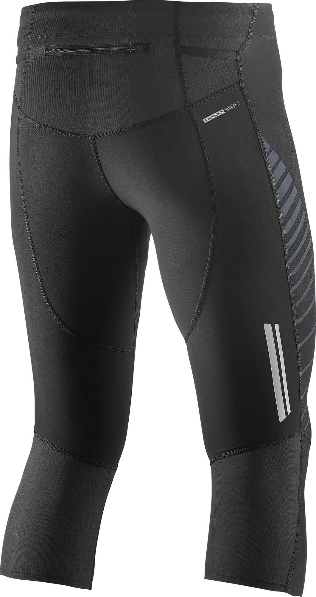 salomon endurance 3  4 tight m bk