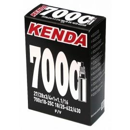Kenda TUBE 28 18/25-622/630 FV - Bicycle Tube - Kenda