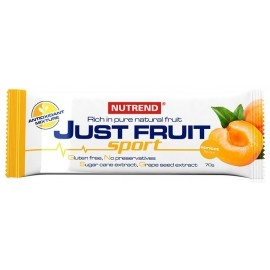 Nutrend JUST FRUIT 70G APRICOT - Fruit bar