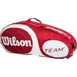 Wilson TEAM 6PK BAG RDWH