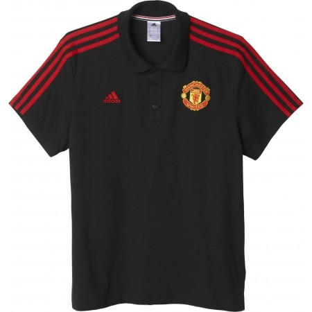 Manchester United FC 3-Stripes Polo Shirt - adidas MUFC 3S POLO - 1