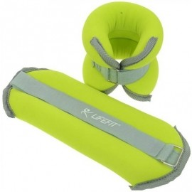 Lifefit ANKLE-WRIST WEIGHTS 2X2KG - Ankle/Wrist Weights