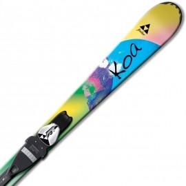 Fischer KOA JR RAIL 90 - 110 + FJ4 AC RAIL - Jr. Downhill Skis