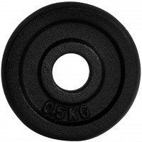 Fitforce WEIGHT DISC PLATE 0.5KG BLACK METAL 30MM