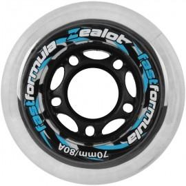 Zealot WHEELS 70X24MM - Set of 4 wheels - Zealot