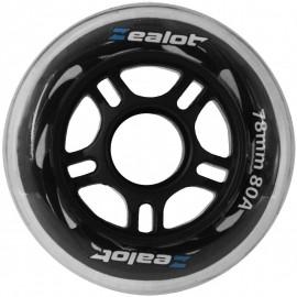 Zealot WHEELS 78X24MM - Set of 4 wheels - Zealot