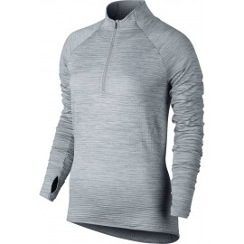 Nike ELEMENT SPHERE 1/2 ZIP - Women's jogging T-shirt