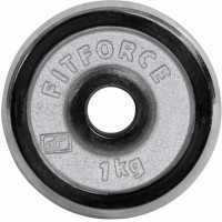 Fitforce WEIGHT DISC PLATE 1KG CHROME