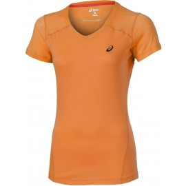 Asics FUZE X V-NECK SS TOP - Women's sports T-shirt