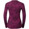 Women's functional T-shirt - Odlo WARM EFFECT PRINTED TEE - 2