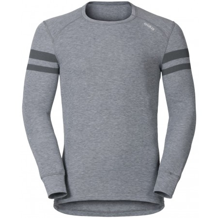 Men's functional T-shirt - Odlo JUL PRINT SHIRT L/S CREW NECK - 3
