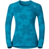 Women's functional T-shirt - Odlo WARM EFFECT PRINTED TEE - 3