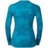 Women's functional T-shirt - Odlo WARM EFFECT PRINTED TEE - 4