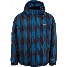 Brugi Men's ski print - Men's winter jacket
