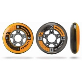 K2 WHEEL 8-PACK 80-82A + ILQ7 SPACER - Inline bearings and wheels set