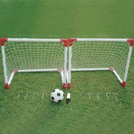 Outdoor Play JC-219A - Set of foldable football goals