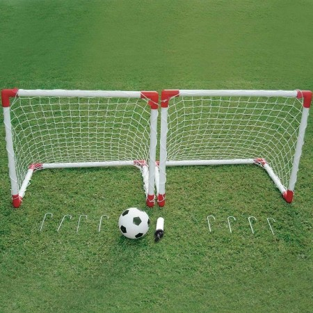 Set of foldable football goals - Outdoor Play JC-219A - 1