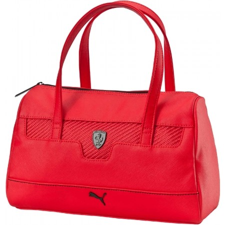 Original  WOMEN39S PUMA FERRARI LS SHOPPING HANDBAG PURSE TOTE BAG BLACK PMMO1035