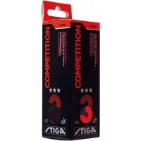 Stiga COMPETITION WHITE 3 PACK