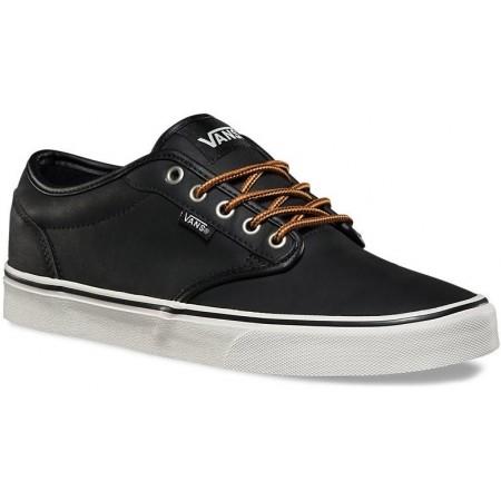 vans atwood leather black