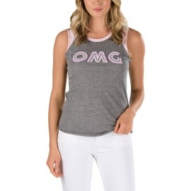 Vans CAREFREE MUSCLE RAGLAN - Women's sleeveless T-shirt