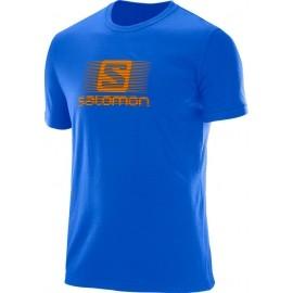 Salomon BLEND LOGO SS TEE M - Men's T-shirt