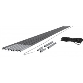 Crossroad GRY TYCE SET - Tent rod repair kit