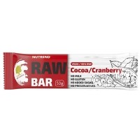 Nutrend RAW BAR 50G COCOA+CRANBERRY
