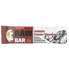 Nutrend RAW BAR 50G COCOA+NUT