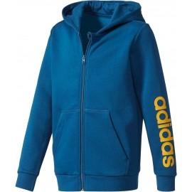 adidas ESSENTIALS LINEAR FULL ZIP HOODIE - Children's sweatshirt