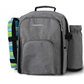 Crossroad PICNIC BAG2 PLUS - Picnic backpack with a blanket