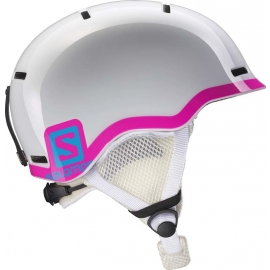 Salomon GROM BLUE / RED - Kids' ski helmet
