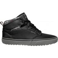 Vans ATWOOD HI MTE Flannel/Black - Men's winter sneakers