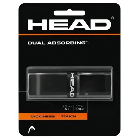 Dual Absorbing black - Basic grips - Head Dual Absorbing black