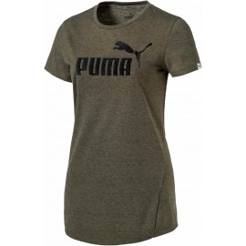 Puma ESS TEE HEATHER W - Women's T-shirt
