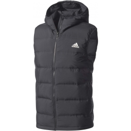 adidas HELIONIC DOWN HOODED VEST - Men's outdoor vest