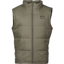 Russell Athletic SLEEVELESS PADDED JACKET WITH CONCEALED HOOD