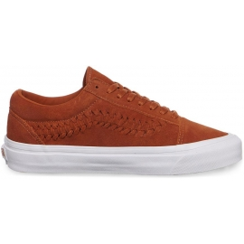 Vans UA OLD SKOOL WEAVE D SUEDE Glazed Ginger - Women's sneakers