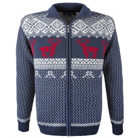 Kama KNITTED SWEATER DEERS - Men's sweater