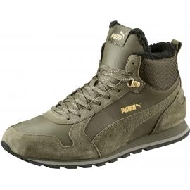 Puma ST RUNNER MID FUR ST - Men's winter fashion shoes