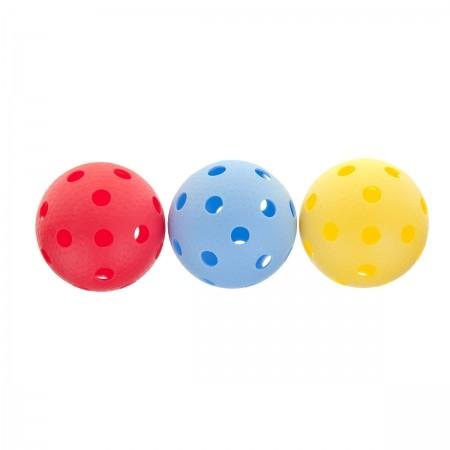 YM-003C - 3 floorball ball set - Kensis YM-003C