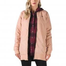 Vans BOOM BOOM LONG REVERSIBLE MTE JACKET - Women's reversible jacket