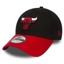 New Era 39THIRTY NBA BLACK CHICAGO BULLS - Club baseball cap