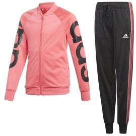 adidas LINEAR POLYESTER TRACKSUIT - Children's suit