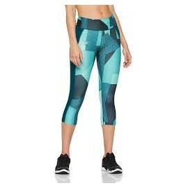 Under Armour SPEED STRIDE PRINTED CAPRI - Women's compression capri leggings