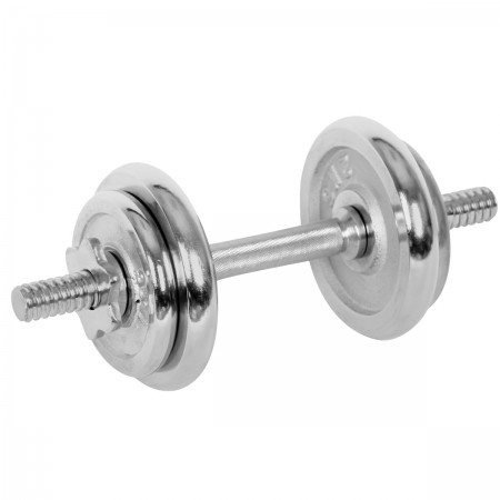 ONE-HAND WEIGHT 7.5 kg CHROME - One-hand adjustable weight - Keller ONE-HAND WEIGHT 7.5 kg CHROME