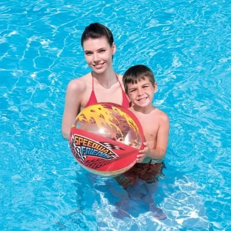 SPEEDYWAY FRIEND BEACH BALL - Inflatable beach ball - Bestway SPEEDYWAY FRIEND BEACH BALL