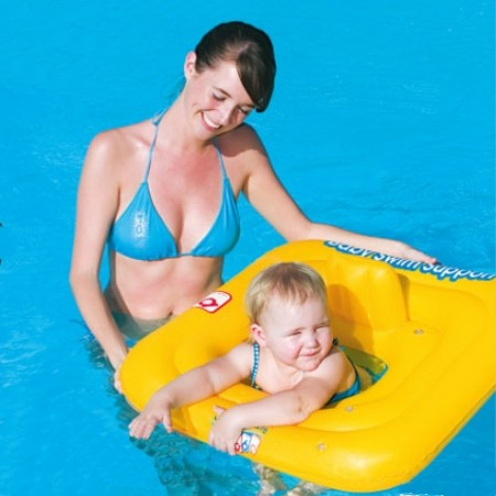 BABY SWIM - Children's inflatable swim ring - Bestway BABY SWIM