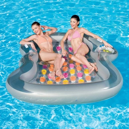 DOUBLE DESIGN - 2-Person Inflatable Lounger - Bestway DOUBLE DESIGN